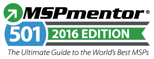Fuse Networks - Ranked Among Top 501 Managed Service Providers by MSPmentor